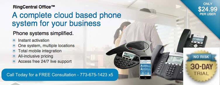 RingCentral | VoIP | Phone Solutions | Computer Repair Chicago